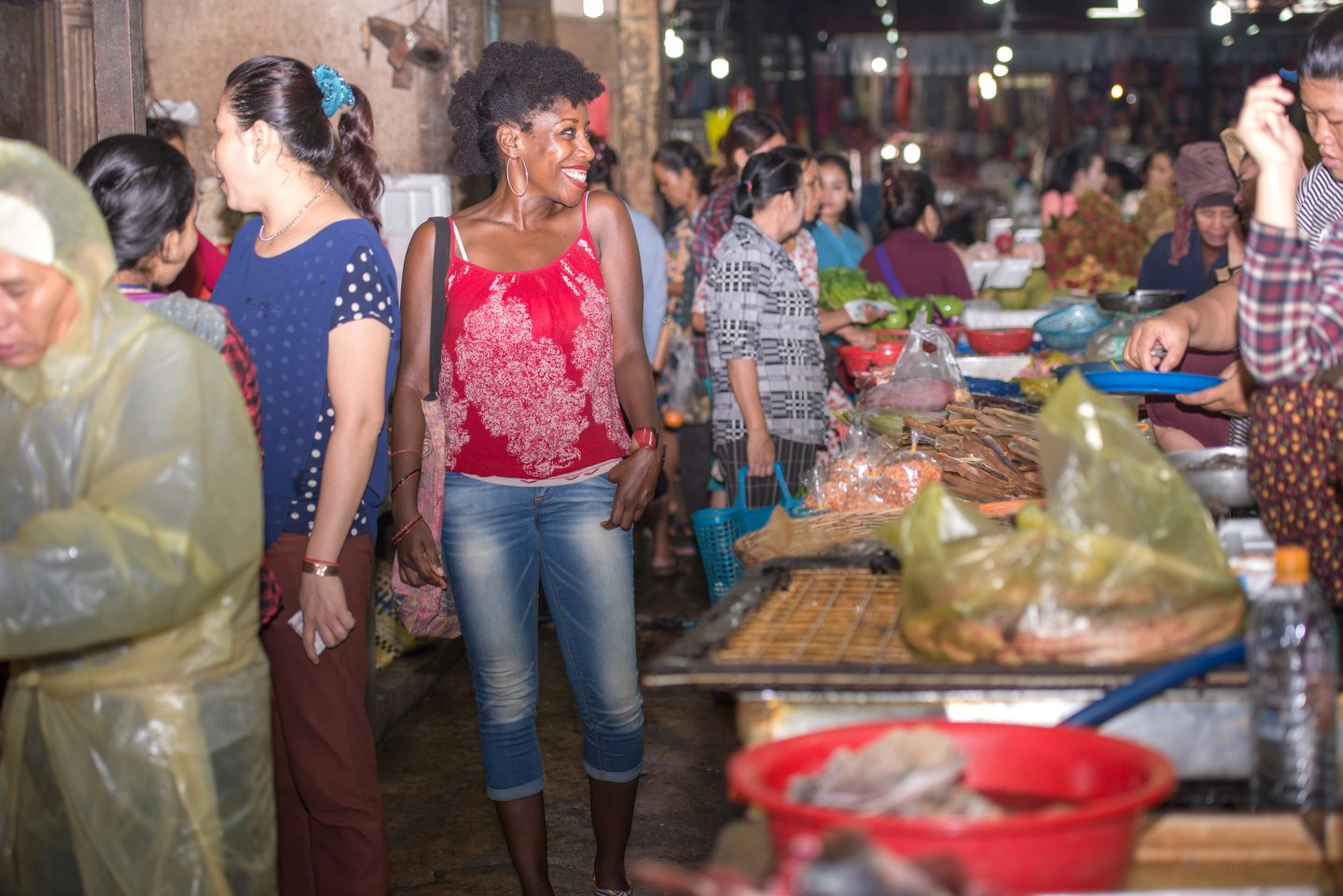 Cambodian Markets, Travel and Living the Life