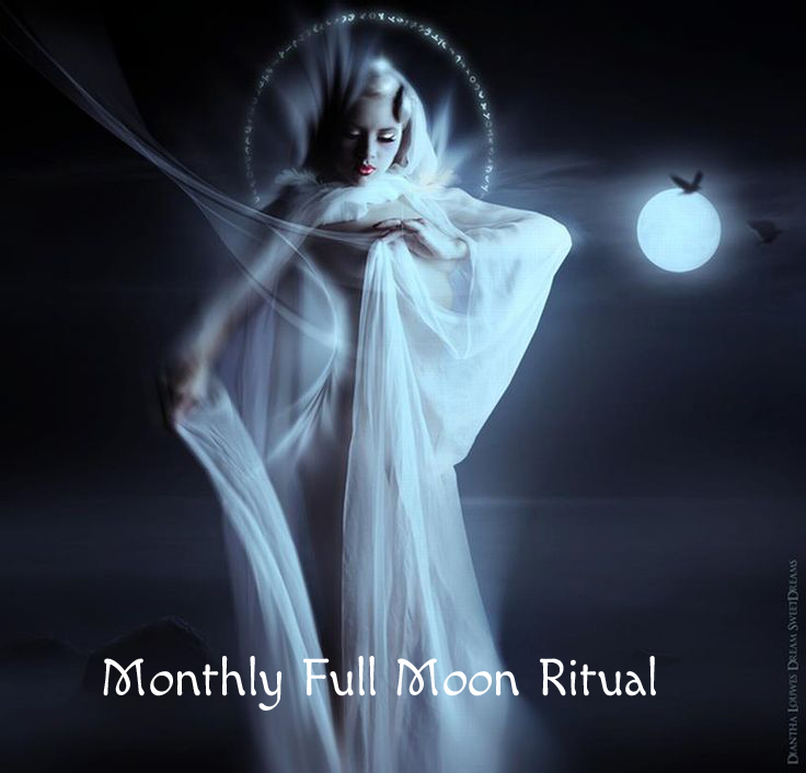 Happy Full Moon! Join the ritual... @ Perform this ritual from the comfort of your own home or on the beach or in the park. Perform it anywhere that feels uplifting for you. You can even do it with a group of friends!