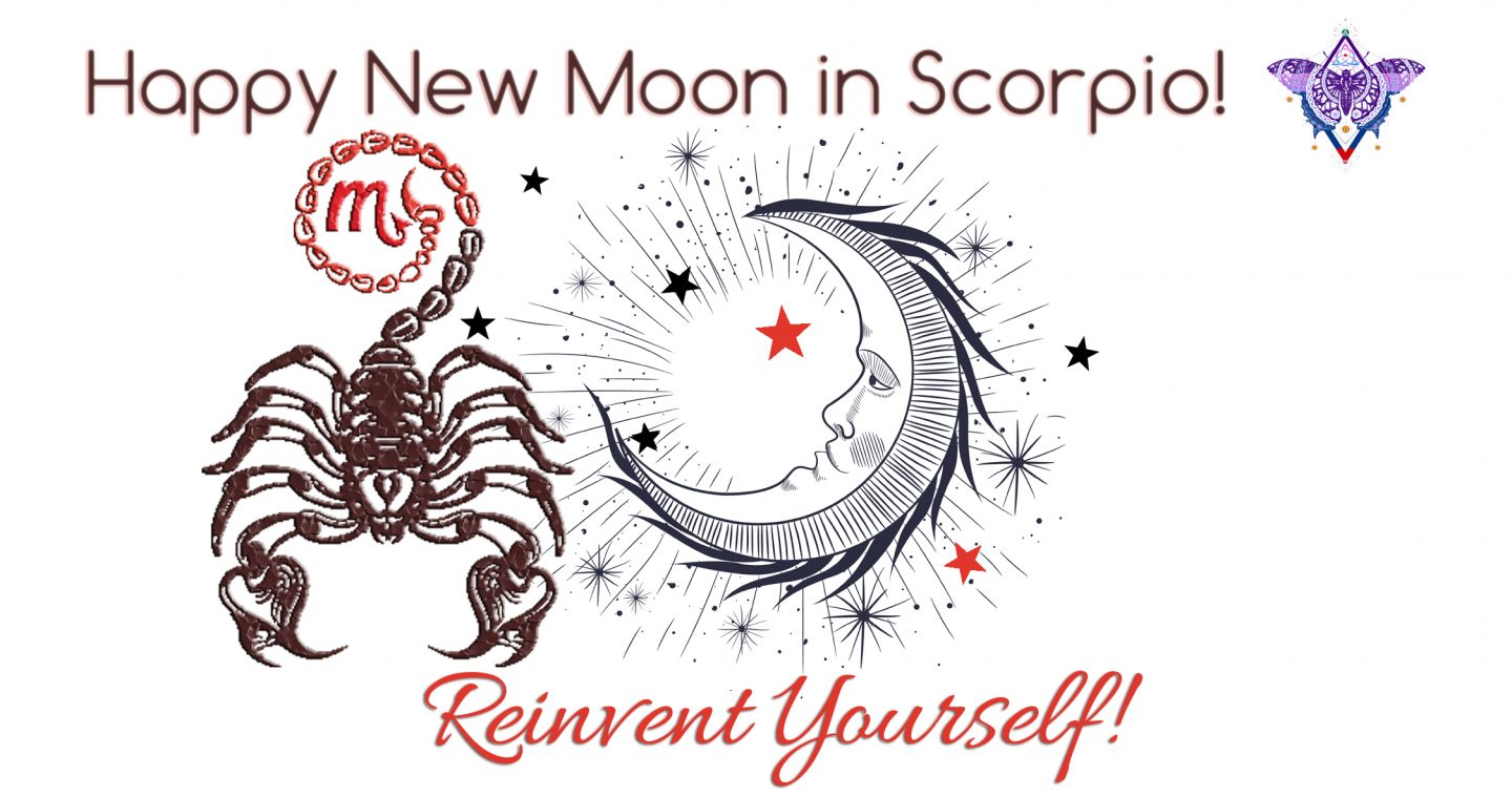 New Moon in Scorpio November 7, 2018: Taking Your Life Back from Your Ego
