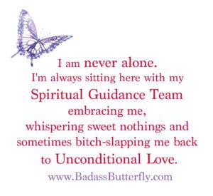 poster describing spirit guides