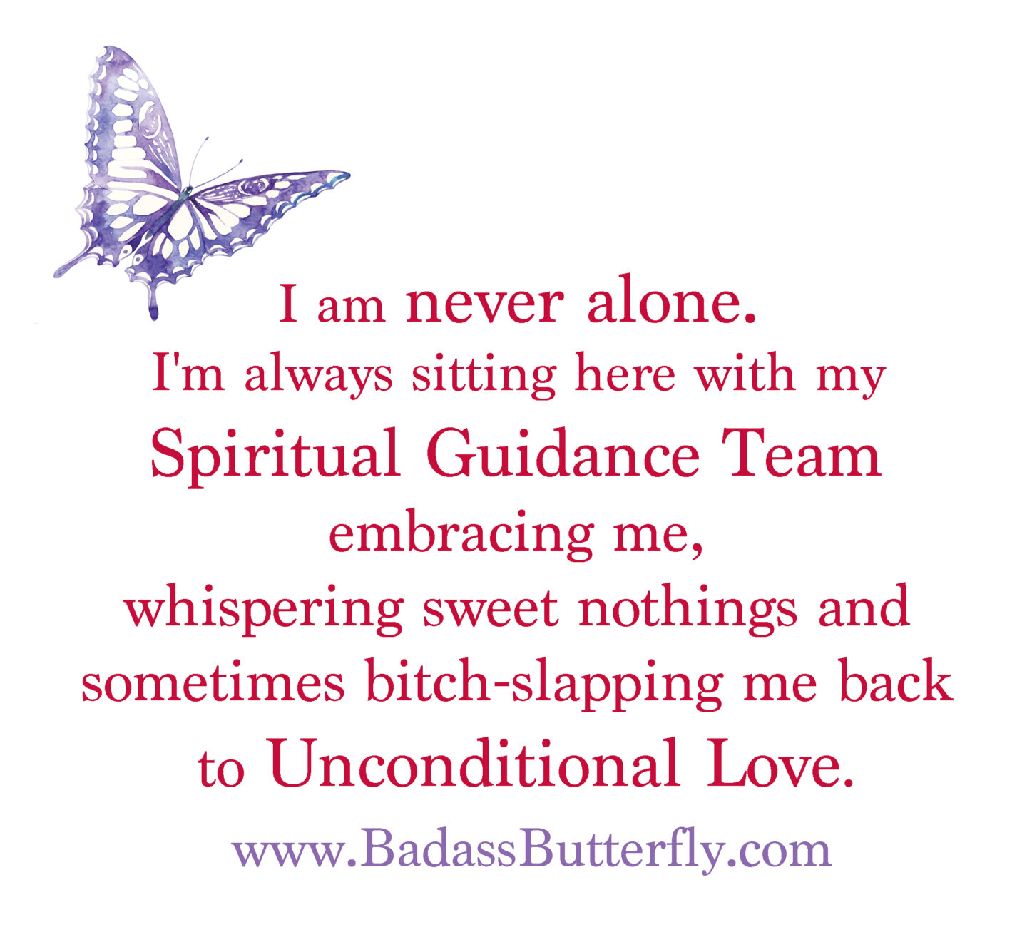 spiritual guidance team poster