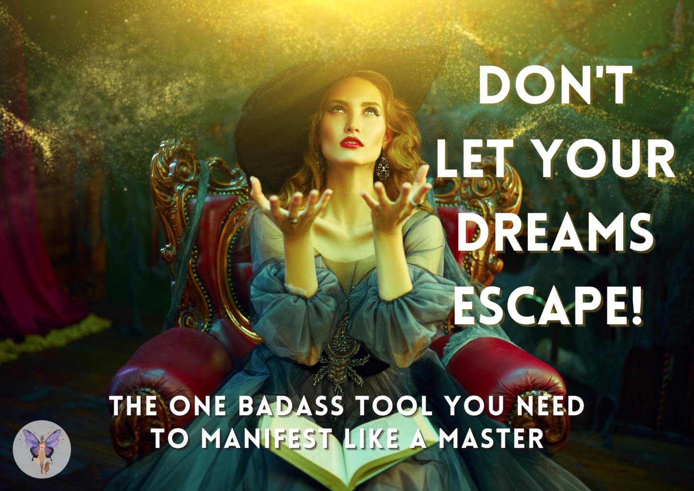 woman manifesting master manifestor